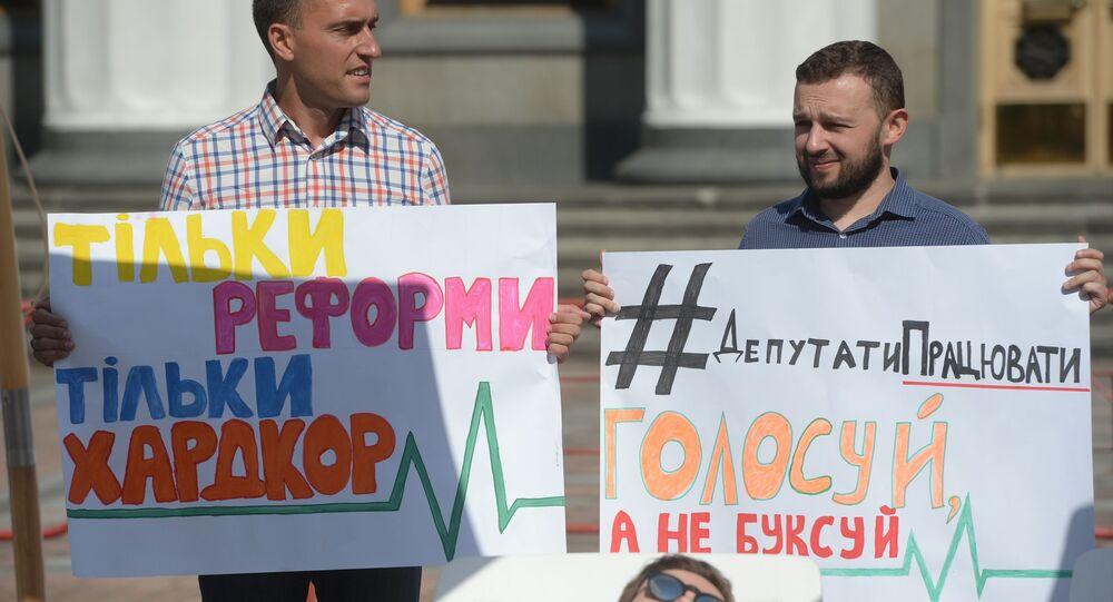 Akcja Deputowani! Do pracy! w Kijowie