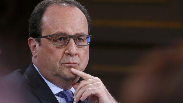 François Hollande - Sputnik Polska