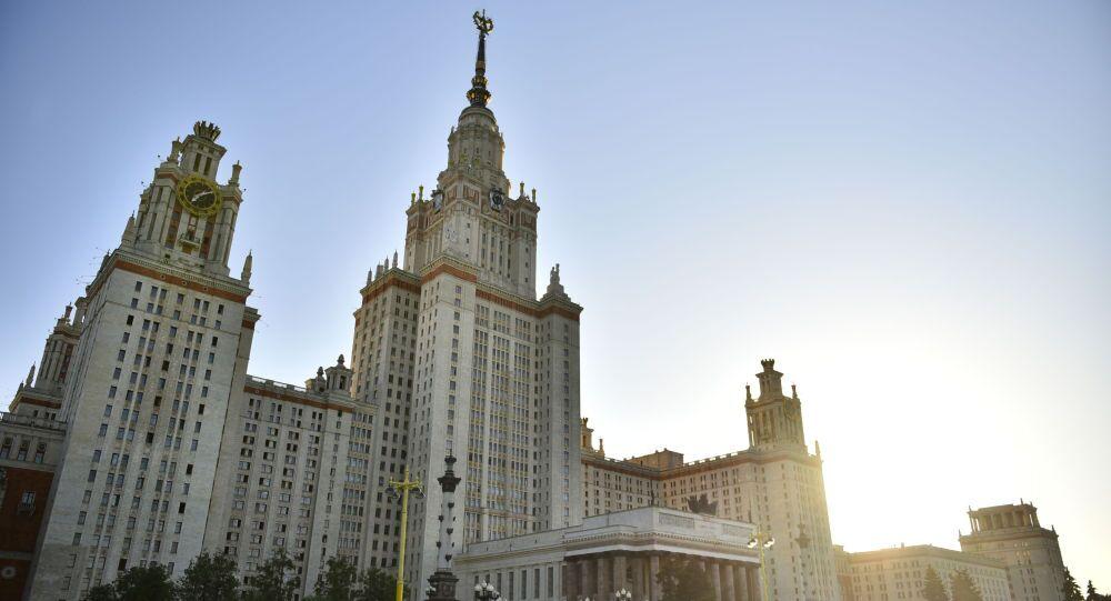 Główny budynek MGU w Moskwie