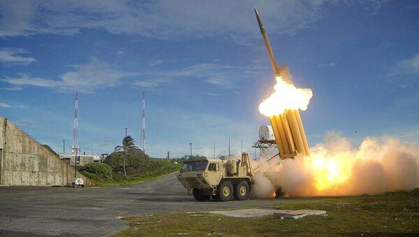 Amerykański rakietowy system antybalistyczny THAAD - Sputnik Polska