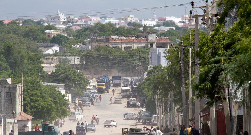 Przedmieścia Mogadiszu, Somalia