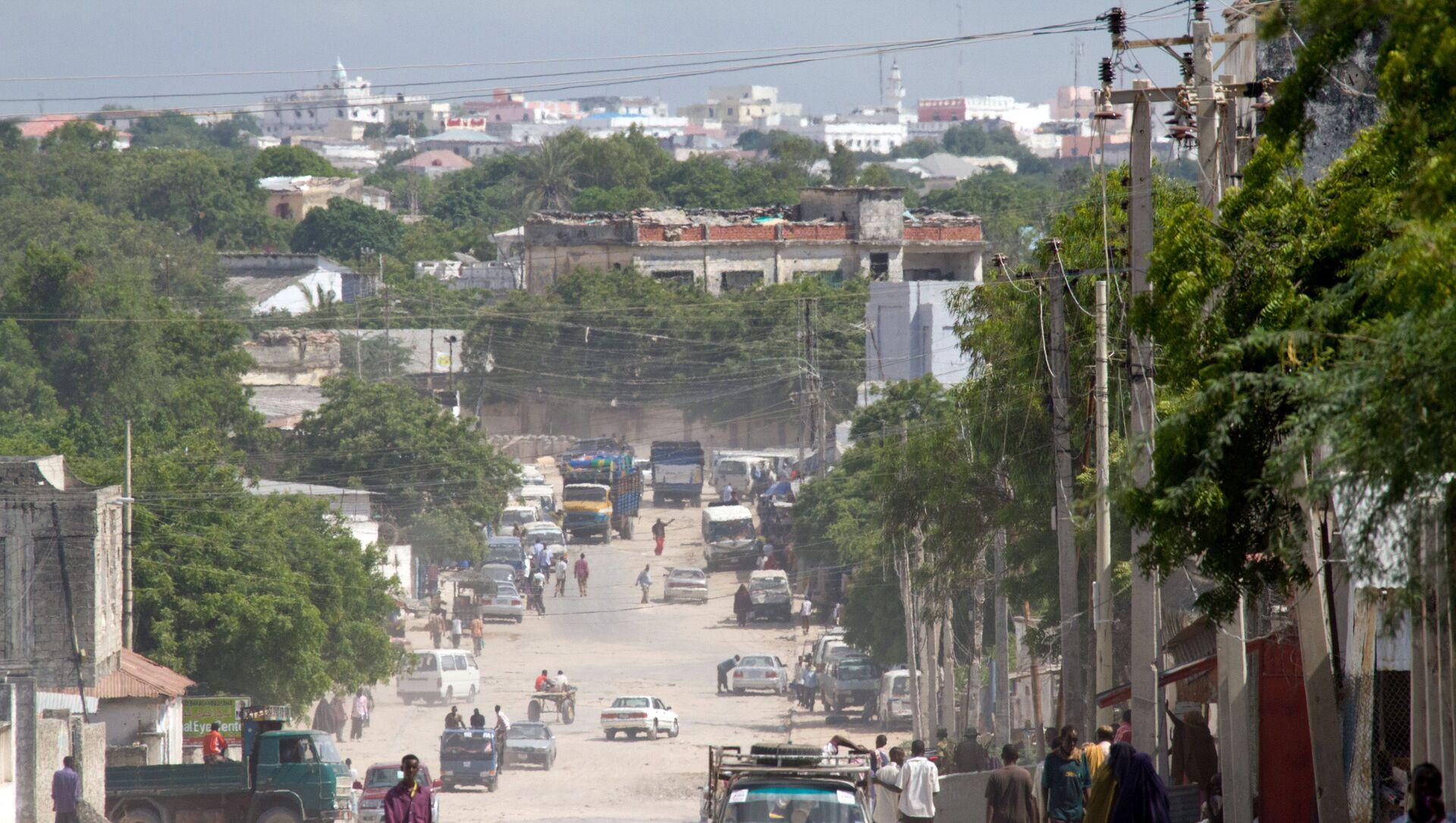Przedmieścia Mogadiszu, Somalia - Sputnik Polska, 1920, 09.03.2021