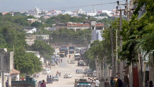 Przedmieścia Mogadiszu, Somalia - Sputnik Polska