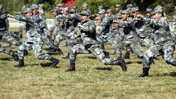 Siły lądowe Chińskiej Armii Ludowo-Wyzwoleńczej - Sputnik Polska