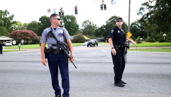 Strzelanina w Baton Rouge w Luizjanie - Sputnik Polska