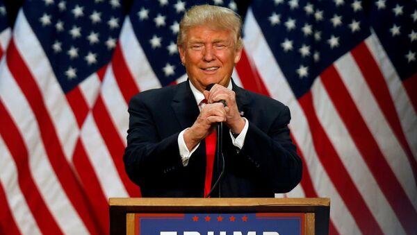 Kandydat na prezydenta Donald Trump - Sputnik Polska