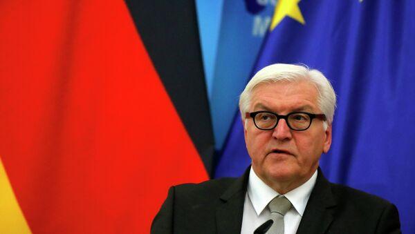 Minister spraw zagranicznych Niemiec Frank-Walter Steinmeier - Sputnik Polska