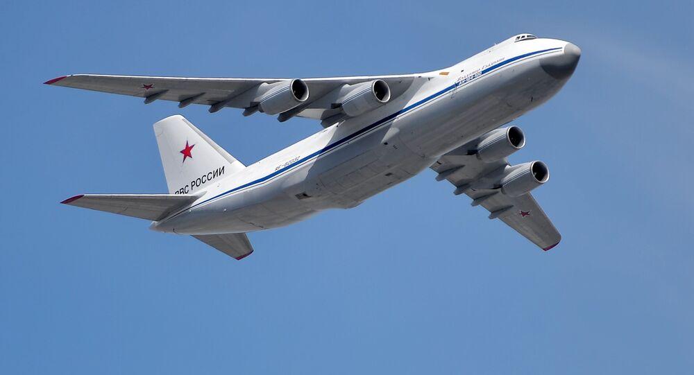Samolot An-124 Rusłan
