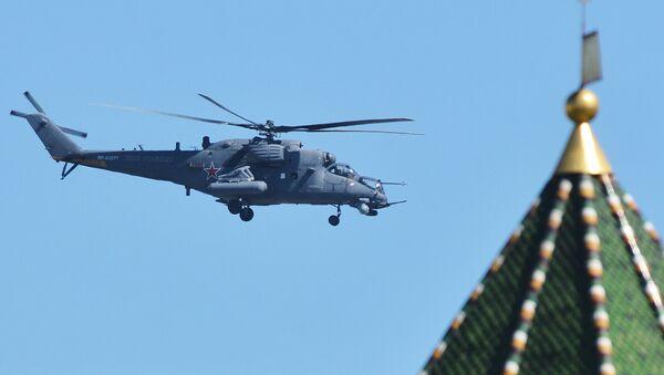 Śmigłowiec szturmowo-transportowy Mi-35M - Sputnik Polska