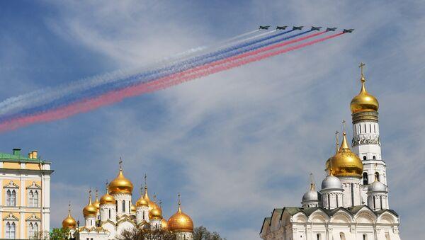 Defilada Zwycięstwa w Moskwie - Sputnik Polska