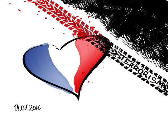 Szok i smutek po zamachu w Nicei