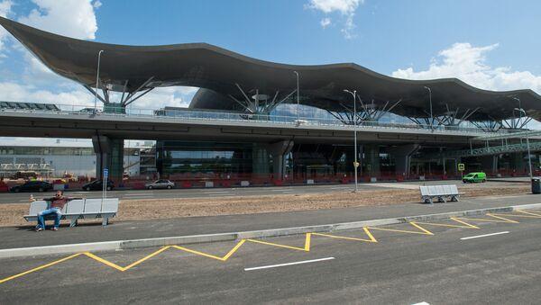 Międzynarodowy port lotniczy Kijów-Boryspol - Sputnik Polska