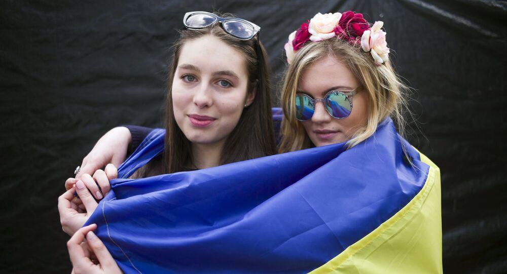 Mityng na rzecz poparcia ratyfikacji umowy stowarzyszeniowej UE z Ukrainą