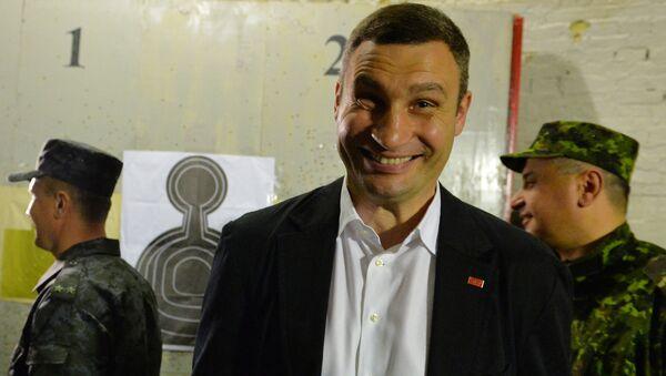 Mer Kijowa Witalij Kliczko. - Sputnik Polska