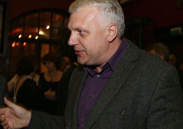 Paweł Szeremet. Dziennikarz.