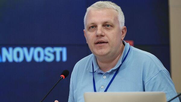 Dziennikarz Paweł Szeremet - Sputnik Polska