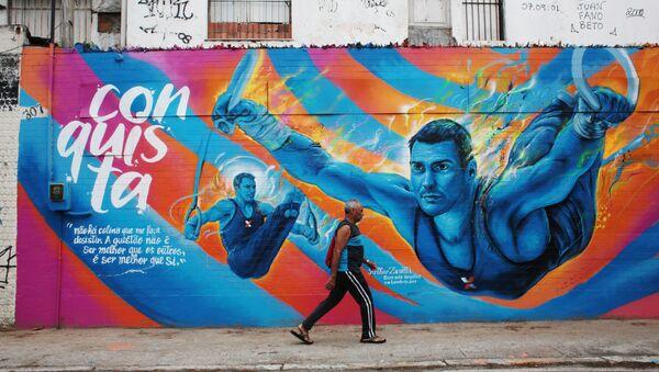 Przygotowania Rio de Janeiro do Igrzysk Olimpijskich. - Sputnik Polska