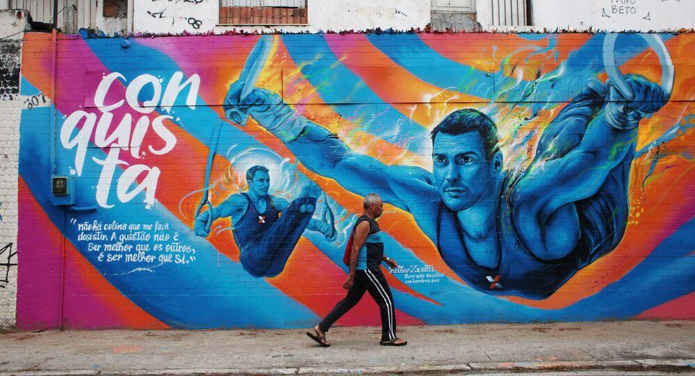 Przygotowania Rio de Janeiro do Igrzysk Olimpijskich.
