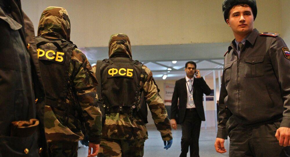 Wybuch na lotnisku Domodiedowo
