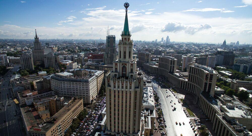 """Hotel """"Leningradzki"""",Moskwa"""