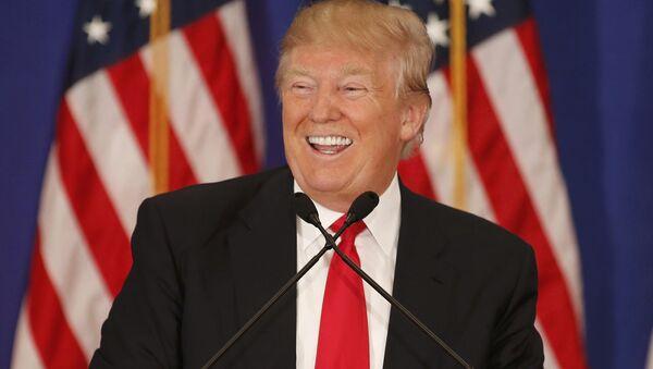Kandydat Partii Republikańskiej na prezydenta USA Donald Trump - Sputnik Polska