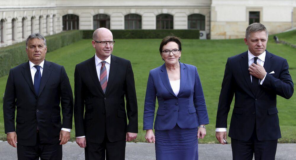 Premierzy państw Grupy Wyszehradzkiej