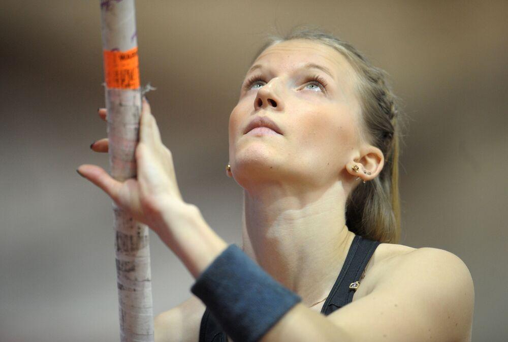 Angelika Sidorova - skok o tyczce, Moskwa, 4. miejsce.