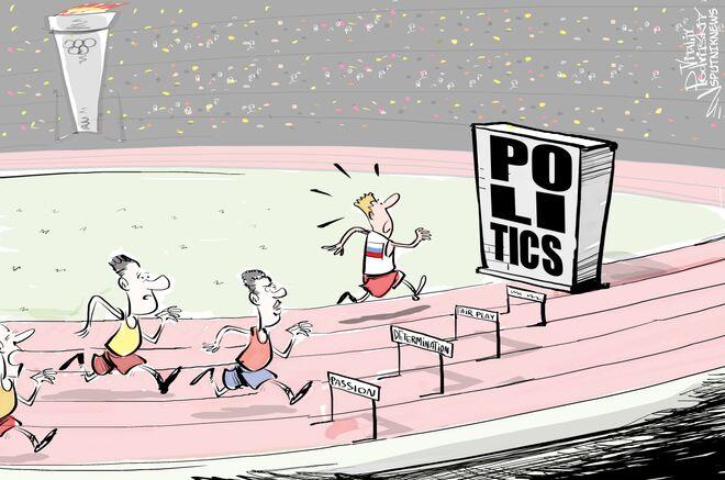 Niedopuszczenie rosyjskich atletów do igrzysk w Rio - to czysta polityka. Można to pisać wielkimi literami