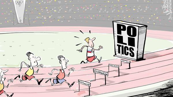 Niedopuszczenie rosyjskich atletów do igrzysk w Rio - to czysta polityka. Można to pisać wielkimi literami - Sputnik Polska