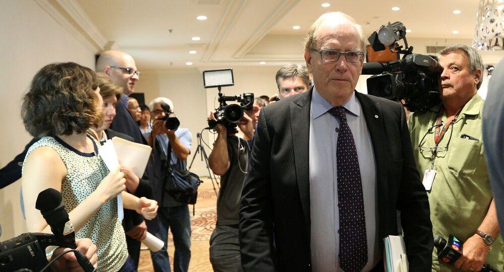 Richard McLaren,  szef komisji World Anti-Doping Agency (WADA)