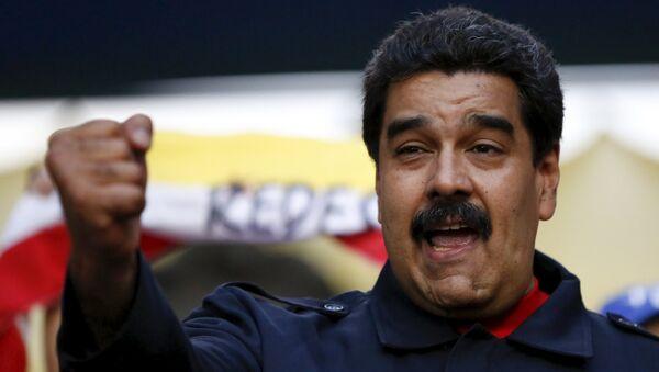 Nicolás Maduro - Sputnik Polska