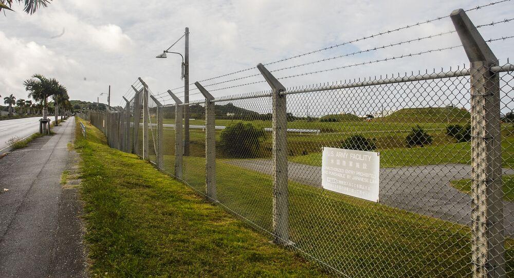 Amerykańska baza wojskowa na Okinawie