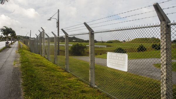 Amerykańska baza wojskowa na Okinawie - Sputnik Polska