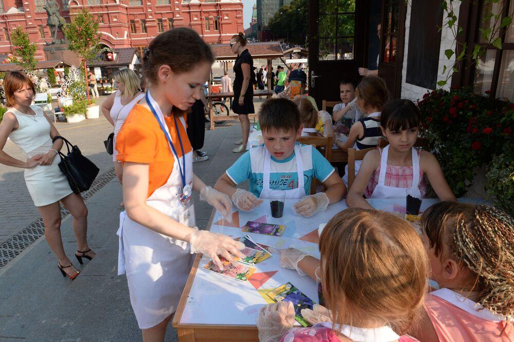Festiwal Konfitur w Moskwie