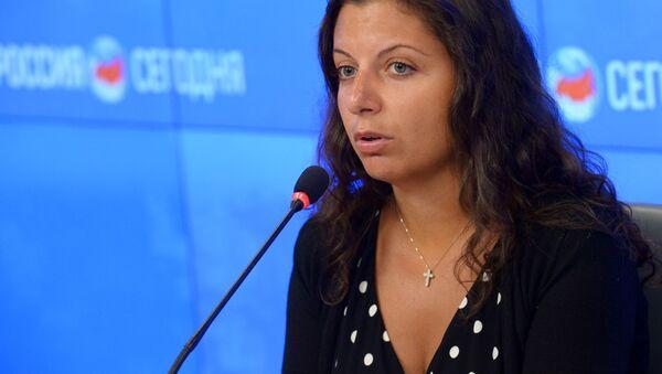 Redaktor naczelna RT Margarita Simonian - Sputnik Polska