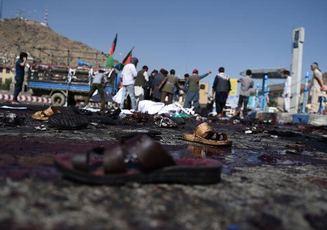 Zamach w Kabulu 23 lipca 2016 r.