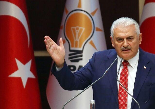 Premier Turcji Binali Yıldırım