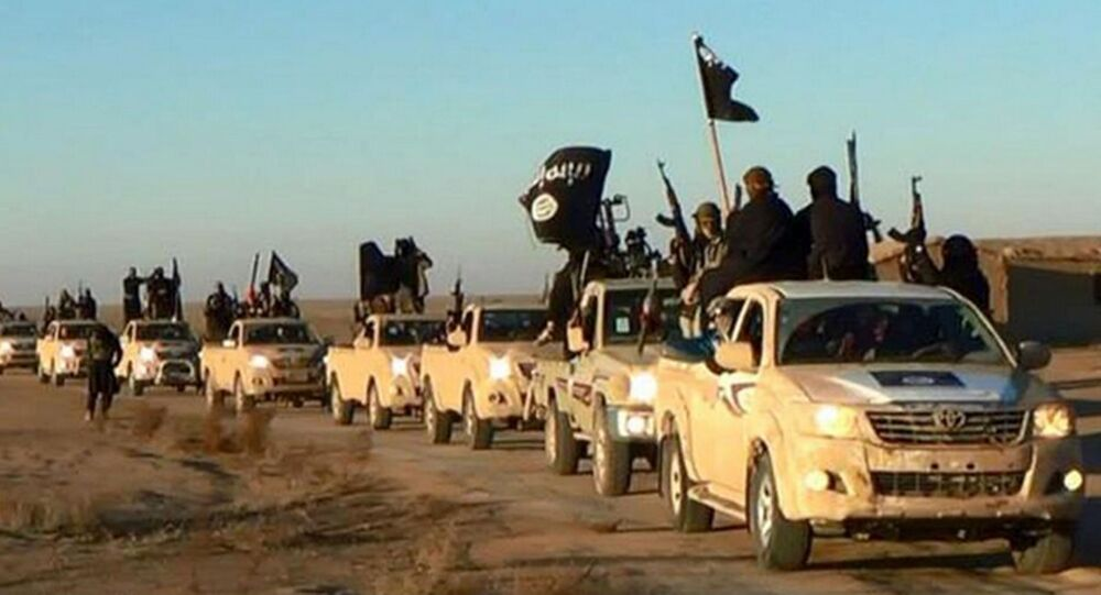 Bojowinicy PI na granicy Iraku i Syrii