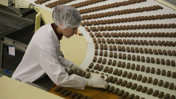 Fabryka czekoladek - Sputnik Polska