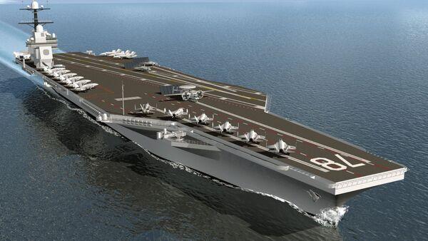 USS Gerald R. Ford - Sputnik Polska