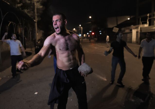 Atak na budynek policji w Erywaniu