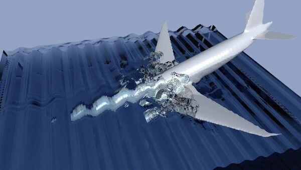 Samolot linii lotniczych Malaysia Airlines MH370: upadek samolotu do wody - Sputnik Polska