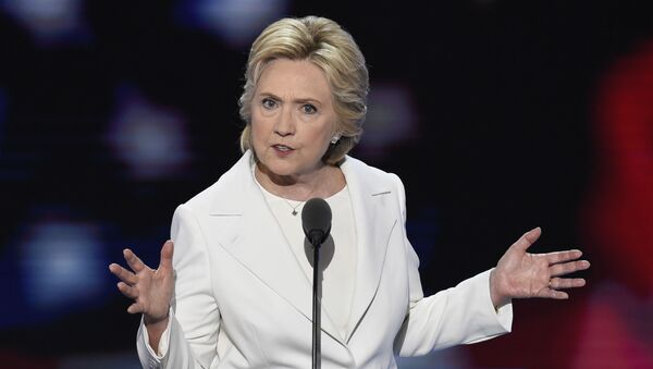 Kandydatka demokratów na prezydenta USA Hillary Clinton - Sputnik Polska