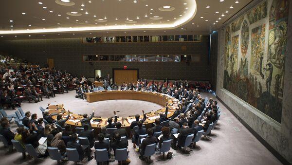 Sesja Rady Bezpieczeństwa ONZ w Nowym Jorku - Sputnik Polska