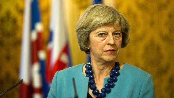 Premier Wielkiej Brytanii Theresa May - Sputnik Polska