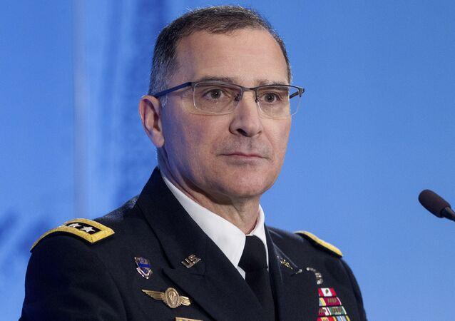 Głównodowodzący siłami NATO w Europie gen. Curtis Scaparrotti