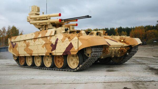 Maszyna wsparcia ogniowego czołgów Terminator - Sputnik Polska