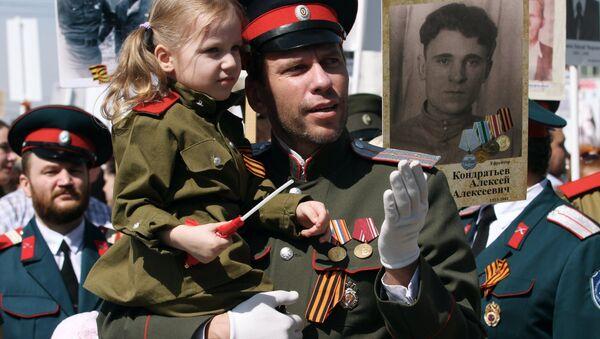 Dzień Zwycięstwa w Rosji, 9 maja 2015 r. - Sputnik Polska
