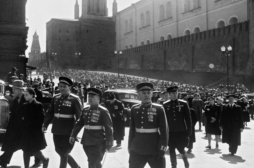 Defilada Zwycięstwa 24 czerwca 1945 roku