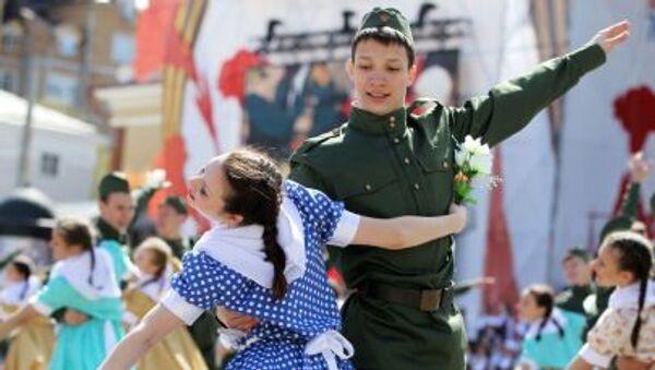 Obchody Dnia Zwycięstwa w Rosji - Sputnik Polska